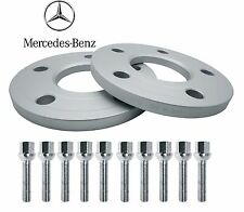 Mercedes Benz Front Hub Wheel Spacers Kit 5x112 12mm Thick W203 W209 W210 R171