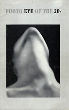 Scarce Brochure: Photo Eye of the 20s, Museum of Modern Art, NY, 1971