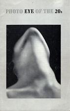Scarce Brochure: Photo Eye of the 20s, Museum of Modern Art, NY, 1971