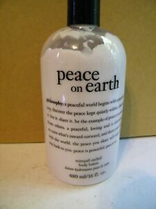 Philosophy Peace on Earth Tranquil Orchid Body Lotion 16OZ new no pump