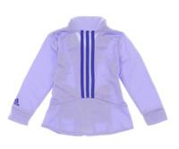 NWOT Adidas Girl's Athletic Full Zip Jacket (Purple, 6)