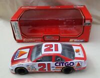 1995 Edition Racing Champions #21 Morgan Shepherd 1:24 Scale Diecast Car NASCAR