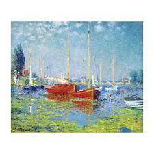 Claude Monet, Argenteuil Yachts Deco FRIDGE MAGNET, 1875 Fine Art Repro Gift