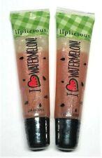 2 Bath & Body Works Liplicious ~ I Love Watermelon ~ Lip Gloss - New and Sealed