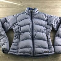 Patagonia Blue / Purple  Puffer Down Jacket Coat~ Size: Women's Small