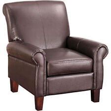 Faux Leather Living Room Modern Chairs