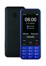 Philips E182 Xenium, Blue, Dual Sim Unlocked - Can use as Power Bank - 3100mAh