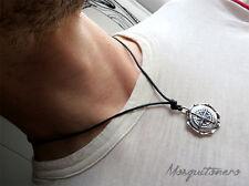 Collana nautica uomo mare Rosa dei Venti o Bussola mare Navy gioielli marinaio