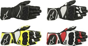 Alpinestars SP-1 V2 Gloves - Motorcycle Street Bike Riding Leather Touch Screen
