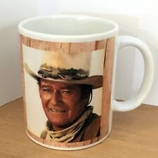 "Coffee Mug 11oz John Wayne ""...Harder if you're Stupid"" Rustic, Western White"