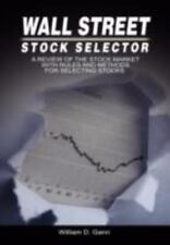 Wall Street Stock Selector: A Review of the Stock Market with Rules and Methods