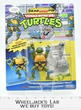 Headdroppin' Leo Unpunched MOSC  1991 TMNT Playmates