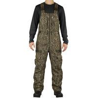 Mossy Oak Mens Sherpa 2.0 Lined Camo Hunting Bib Overalls