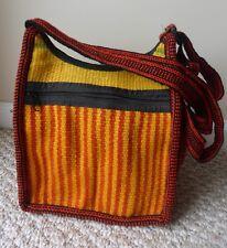 Sling Back Pack Convertible Shoulder Bag and Backpack - Handwoven Manta in Peru