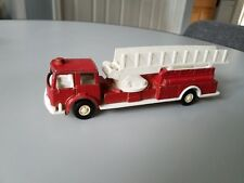 Vintage 1970 Tootsie Toy Fire Truck w/ Lifting Ladder