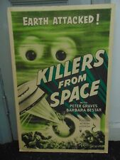 Killers From Space Original One-Sheet Poster #N115