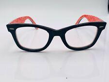 Ray Ban RB2140 Wayfarer Black Oval Sunglasses Frames Italy