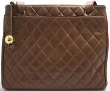 CHANEL Tasche Bag Schultertasche Shoulder bag Braun Brown 255 Matelace SUPER!