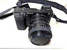 sony alpha a6000 243 mp digital camera with minolta md 50mm lens - Minolta Digital Camera