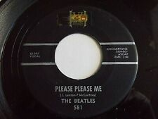 The Beatles Please Please Me / From Me To You 45 Black VeeJay Vinyl Record