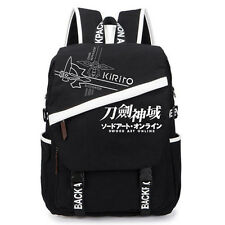 Anime Sword Art Online SAO Logo Backpack Sport School Bag Canvas  Fashion Gift