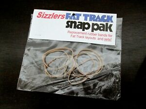 Sizzlers Fat Track Curve Joiner Rubber Bands Fit Big O Breakin 8 Control CA 500