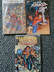 Spider-man Graphic Novels  Lot X3