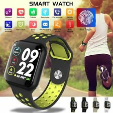 Sports Smart Watch Touch Screen Heart Rate Blood Pressure Oxygen Monitor Tracker