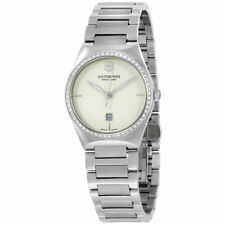 NEW Victorinox 241521 Victoria Silver Dial Stainless Steel Ladies Watch