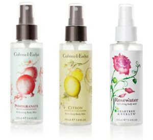 crabtree evelyn rosewater, pomegranate body mist choose one
