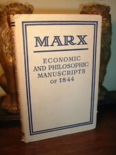 Karl Marx Economic and Philosophic Manuscripts of 1844 - Vintage Hc/Dj