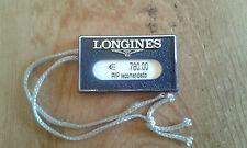 Usado - LONGINES - Etiqueta sello reloj - Item For Collectors