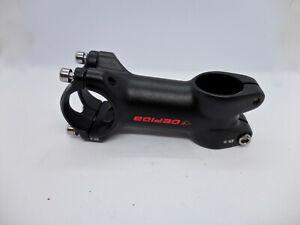 "Bike Stem - 80mm, 31.7 Clamp, +/-5, 1 1/8"", Alloy, Black Polish"