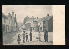 Devon NORTHAM Village scene & locals pre1919 PPC by Frith