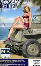 Masterbox pin-up girls Femmes 1 figure samantha 1:24 (32/35) modèle-Kit usa