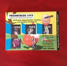 SVENDO CATALOGO SORPRESINE KINDER TEDESCO PREISKATALOG 1998, NUOVO