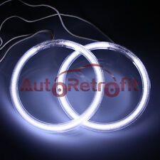2PCs 90mm/3.55inch Xenon White CCFL Halo Rings, Angel Eye Rings for Projectors