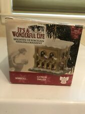 Ornament IT'S A WONDERFUL LIFE Gower Drugs ENESCO Excellent IN BOX