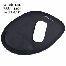 Thin Wrist Mouse Pad Mat Optical Trackball Mousepad Mice Black Gaming Computer