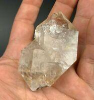 113.38 g Herkimer Diamond Crystal, Asymmetrical Form, Gem Clarity, Rainbows