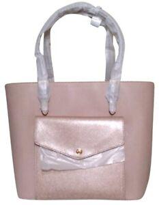 🌸Michael Michael Kors Jet Set Large Pocket tote Center Zip satchel laptop bag