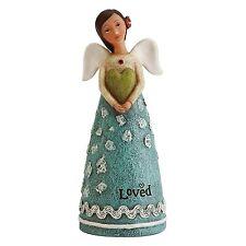 "JULY Birthday Wish Angel, Celebrate Beauty, 4.25"" Tall, from Studio by Demdaco"
