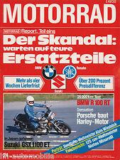 Motorrad 24 79 BMW R100RT Hailwood Ducati Replica Minarelli 125 Vespa 50N 1979