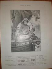Lifebuoy Soap sailor boy UK advert 1902