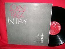 JOAN BAEZ In Italy LP 1967 AUSTRALIA First Pressing G/f Mint-Bob Dylan RARITA'