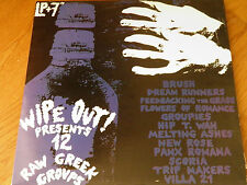 Various ‎– Wipe Out! Presents 12 Raw Greek Groups LP+7''+INSERT GREEK NEW WAVE