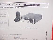 1978 JCPENNEY CB RADIO SERVICE SHOP MANUAL MODEL 981-6247 (981-3080) JC PENNEY