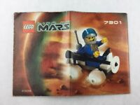 Lego Life on Mars - Set 7301 Instructions Booklet / Manual / Only - 2001
