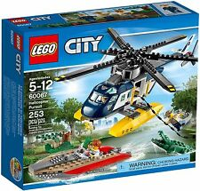 LEGO City Helicopter Pursuit (#60067)(Retired 2015)(Rare)(NEW)