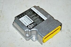 2009-2012 Volkswagen CC Air Safety Bag Module System Restraint Control Unit OEM